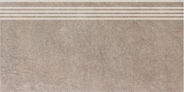 SG614400R/GR   Ступень Королевская дорога коричневый светлый обрезной