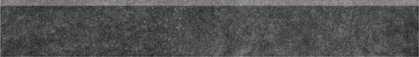 SG615000R/6BT   Плинтус Королевская дорога черный обрезной