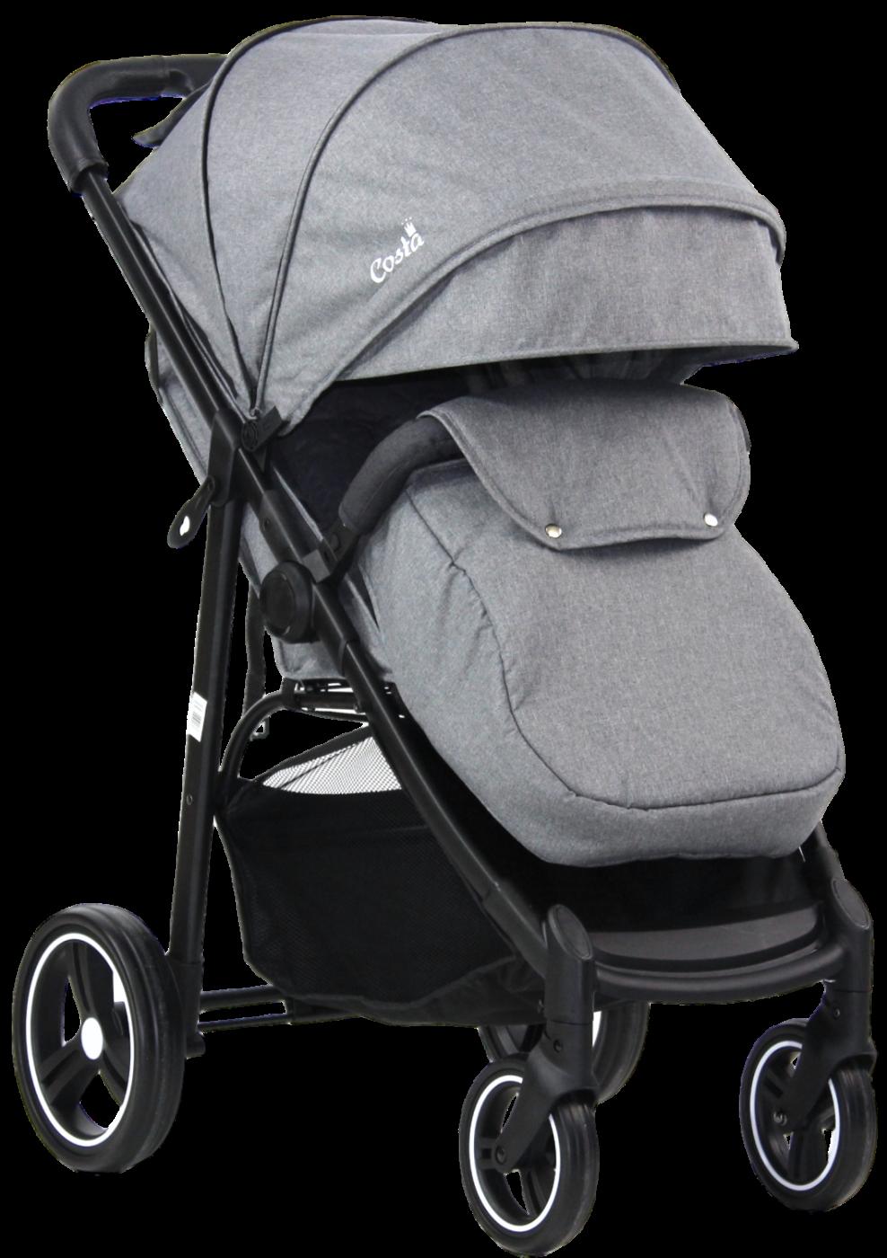 Прогулочная коляска COSTA Jenny Grey - серый