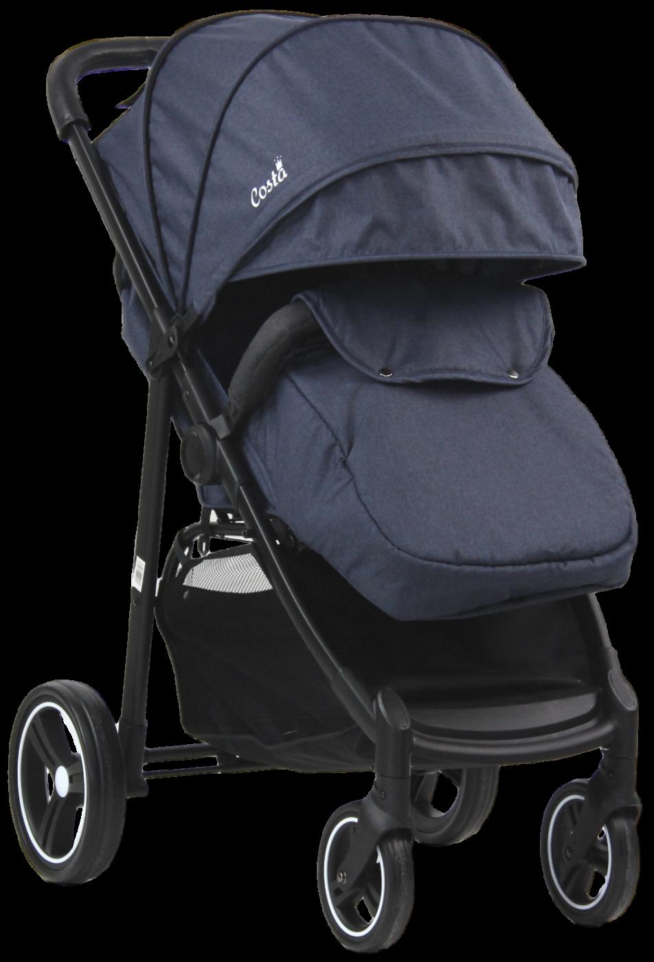 Прогулочная коляска COSTA Jenny Blue - синий