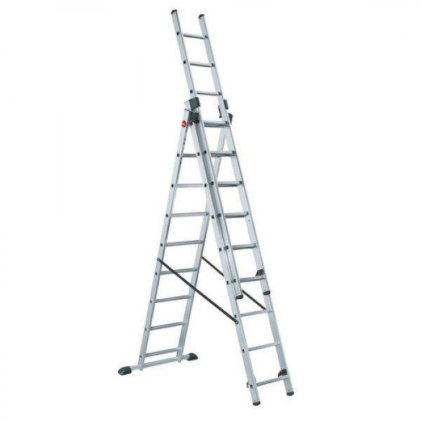 Лестница трёхсекционная LWI 3х13