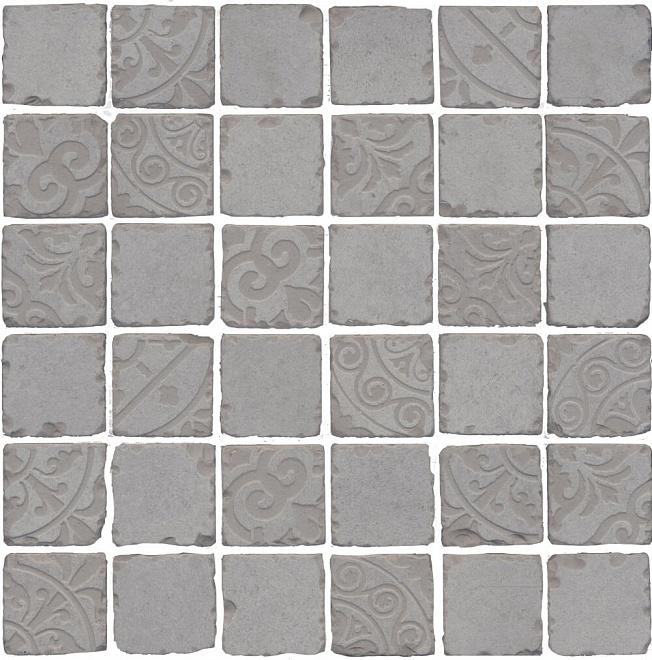 SBM004/DD6402 | Декор Про Фьюче серый мозаичный