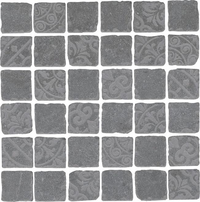 SBM007/DD6405 | Декор Про Фьюче серый темный мозаичный