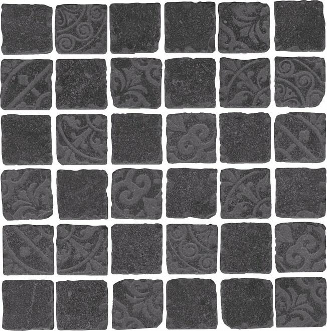 SBM002/DD6399 | Декор Про Фьюче черный мозаичный