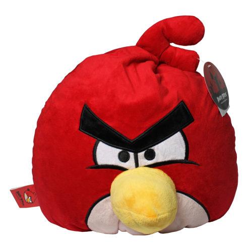 Angry Birds декоративная подушка красная птица Red Bird 30см
