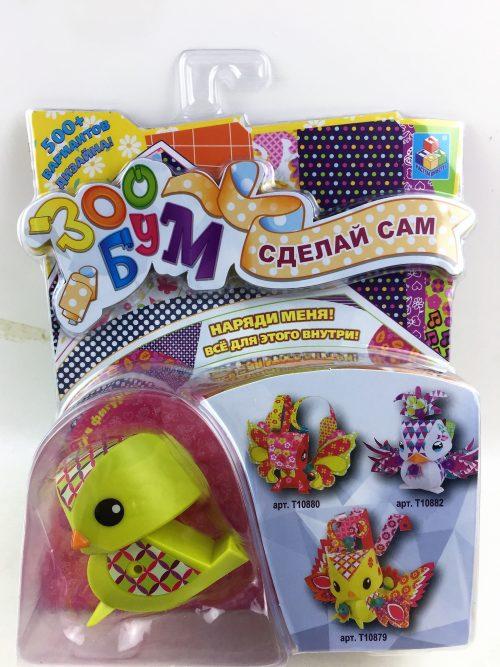 1toy Игрушка: набор для дет. творчества ЗооБум