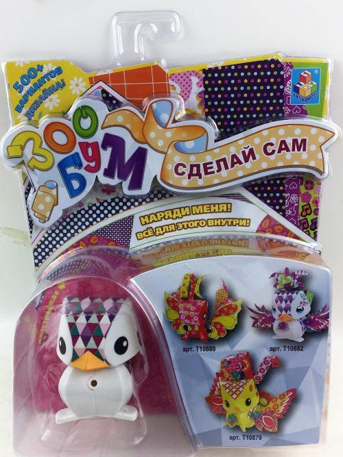 1toy Игрушка: набор для дет. творчества ЗооБум Пингвинчик 20,5*26,5*6 см.,блистер