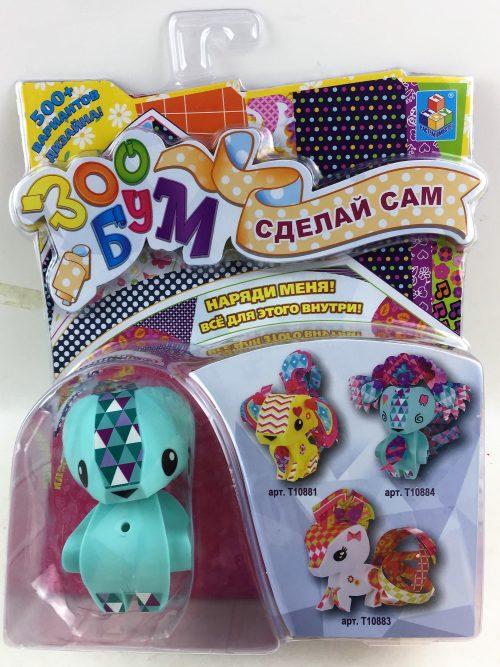1toy Игрушка: набор для дет. творчества ЗооБум Полярный мишка 20,5*26,5*6 см.,блистер