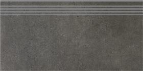 SG211600R/GR | Ступень Дайсен антрацит обрезной