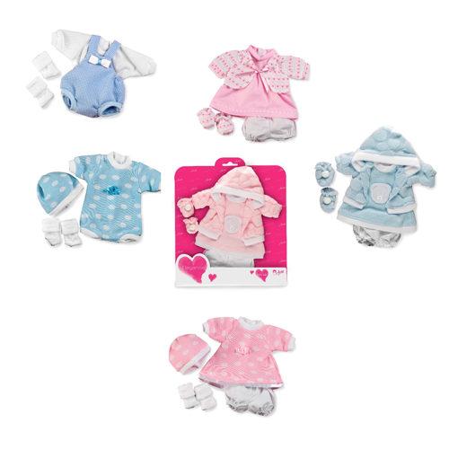 Arias Elegance набор одежды для куклы 26 см., 6 видов в ассортименте , упак. 28x1x31 см.