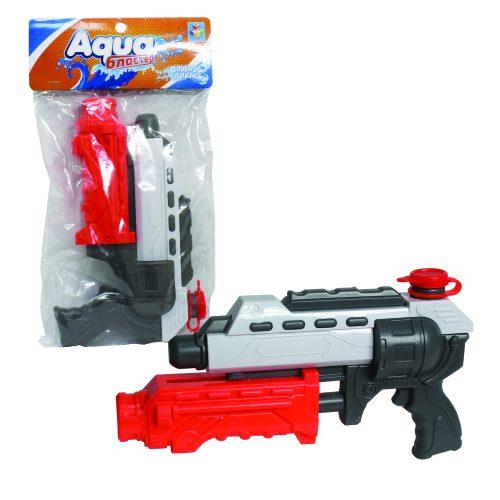 1toy Аквамания, вод.пистолет, помповый, 32см, пакет