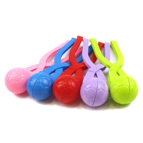 1toy игрушка для формирования снежков, футб.мяч, 26*7*7см, цв. в асс-те