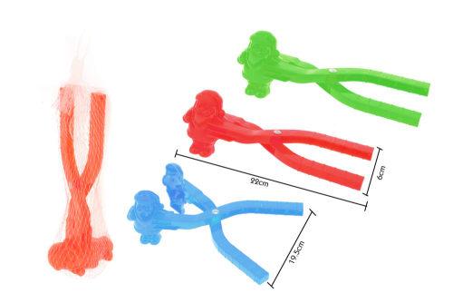 1toy игрушка для формирования снежков, дед мороз, 22*6см, цв. в асс-те