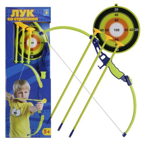 Набор лучника, лук и стрелы, мишень, 21, коробка