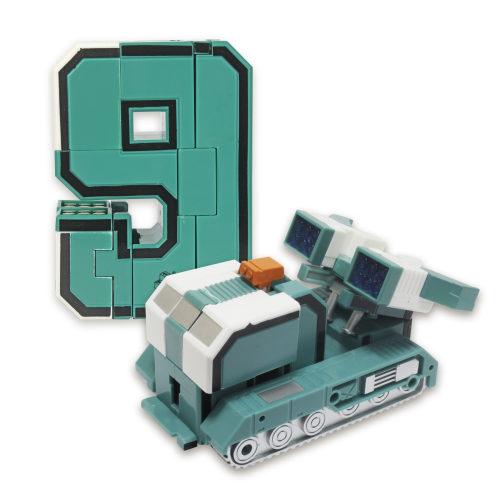 1 toy Трансботы XL Боевой расчет ПВО: Дефендер, блистер