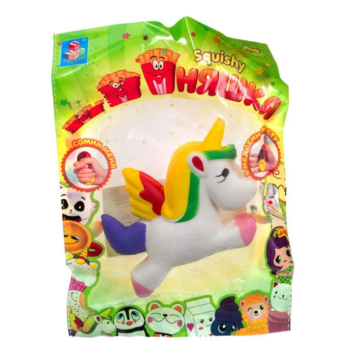 1toy игрушка-антистресс мммняшка squishy (сквиши), единорог ,31 гр