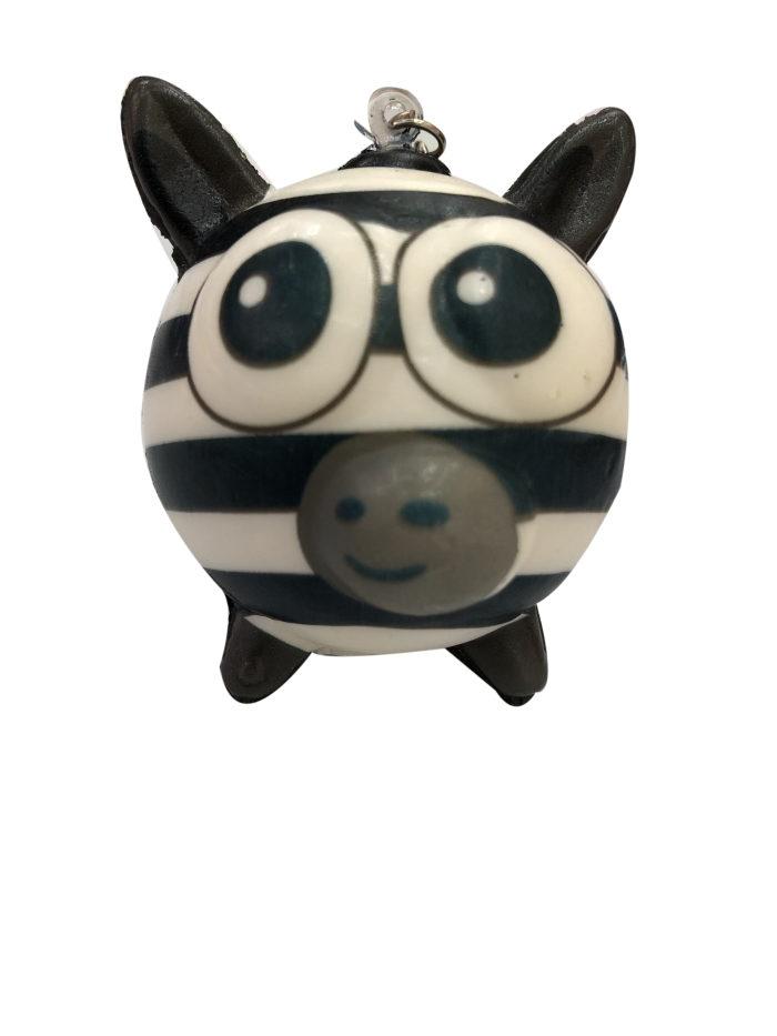 1toy игрушка-антистресс мммняшка squishy (сквиши), шарики-звери, зебра