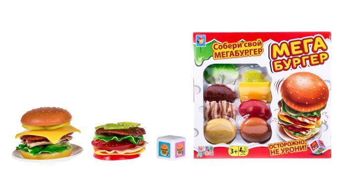 1toy ИГРОДРОМ Игра настольная Мегабургер