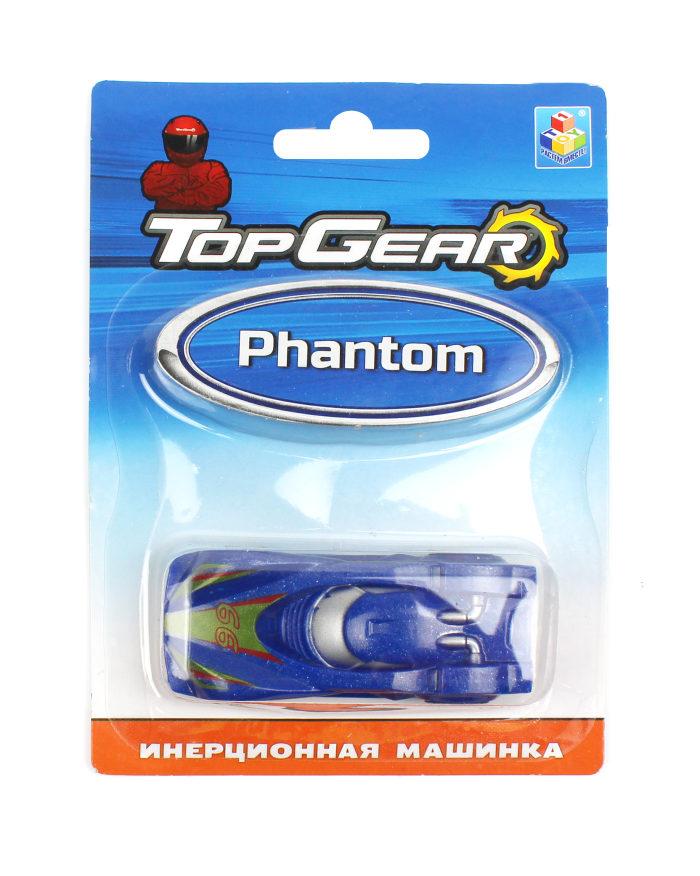 1toy Top Gear пласт. машинка Speed King, инерц. блистер