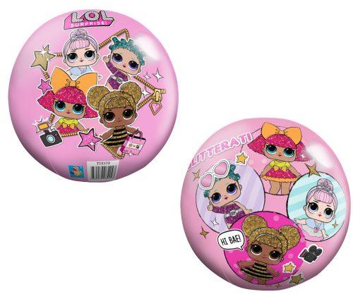 Мяч ПВХ с полноцветн LOL, 23 см, 90 г, сетка и бирка
