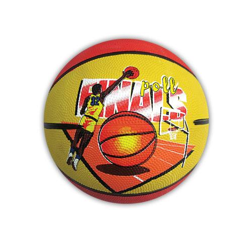 FunMax мяч баскет. 5резина,400гр.1в.с печатью