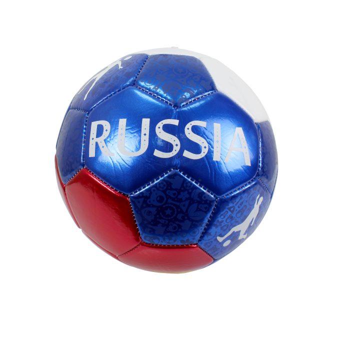 1 Toy футбольный Foam мяч ПВХ 23 см, 2-х слойный, машинная сшивка Россия