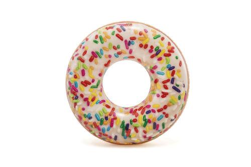 Надувной круг пончик с присыпк.114см от 9лет