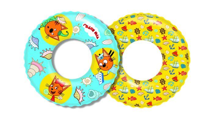 надувной круг Три Кота 61см от 3-6лет