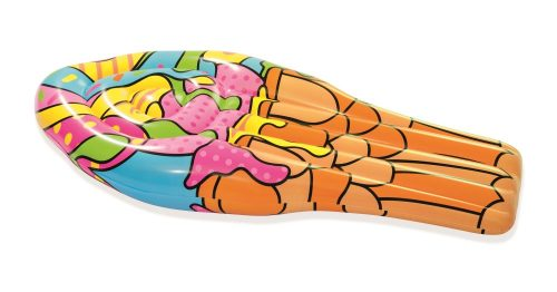 Надувной матрас для плавания поп-арт мороженое 188х95см