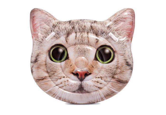 Надувной плот котик 145х135см