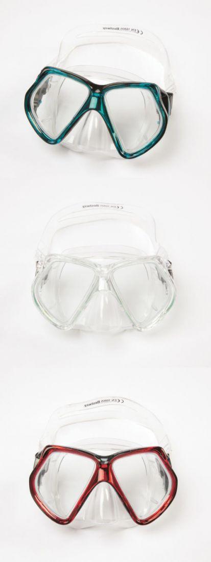 Плавательная маска от 14лет 3 цв. в асс-те