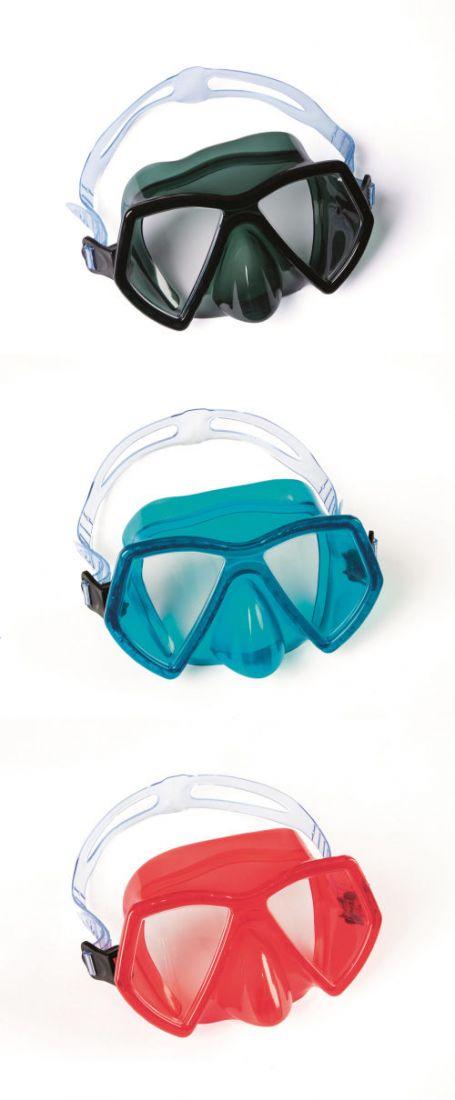 Плавательная маска морская от 7лет 3 цв. в асс-те