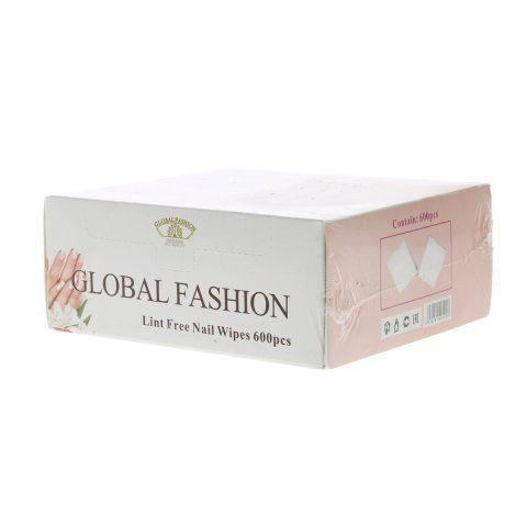 Салфетки безворсовые Глобал Фешн 600 шт коробочка