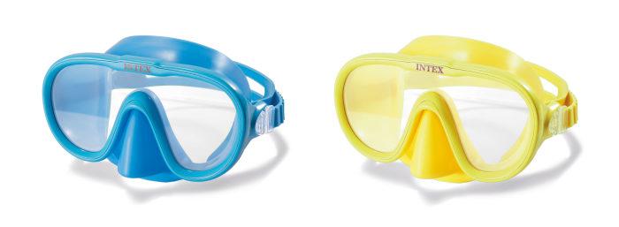 Плавательная маска от 8лет 2цв.
