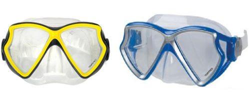Плавательная маска силикон.авиатор от 8лет 2цв.