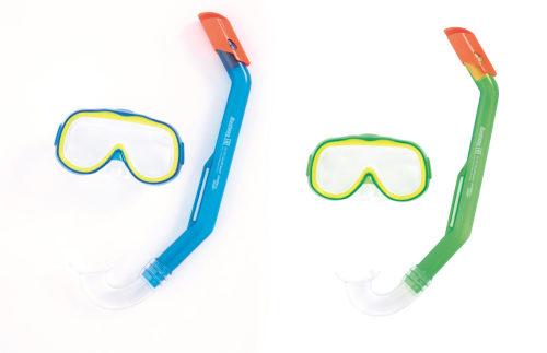 Плавательный набор исследователь (маска, трубка) от 3лет 2 цв. в асс-те