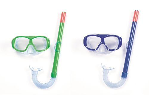 Плавательный набор крутой фристайл (маска, трубка) от 7лет 2 цв. в асс-те