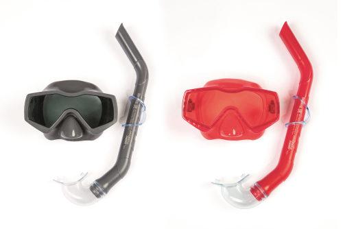 Плавательный набор аква прайм (маска, трубка) от 14лет 2 цв. в асс-те