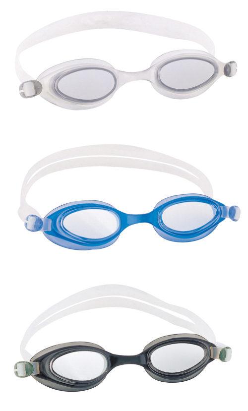очки для плавания соревнование 3 цв. в асс-те