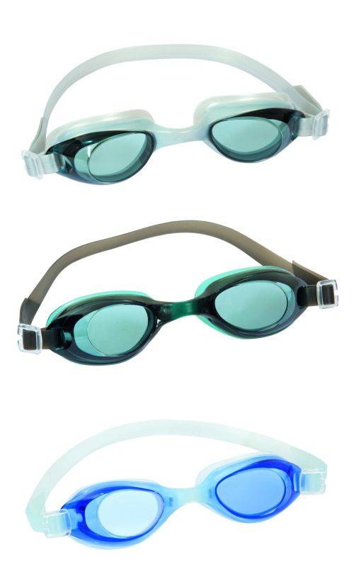 очки для плавания активный отдых от 14лет 3 цв. в асс-те