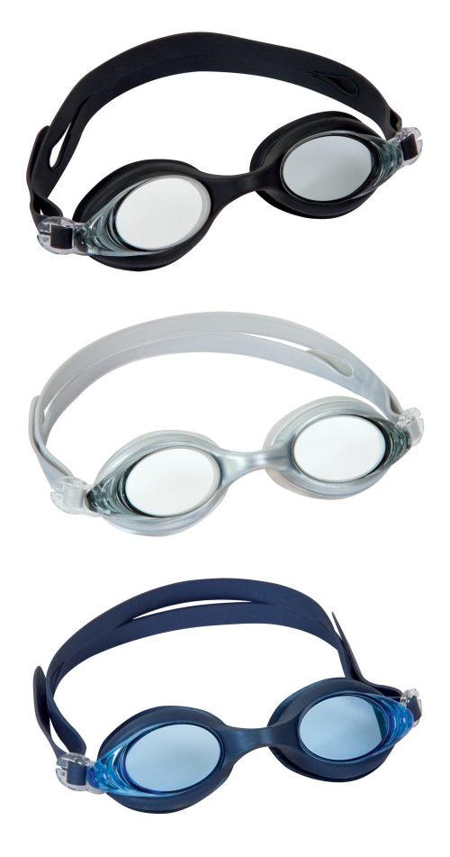 очки для плавания вдохновл. гонка от 14лет 3 цв. в асс-те