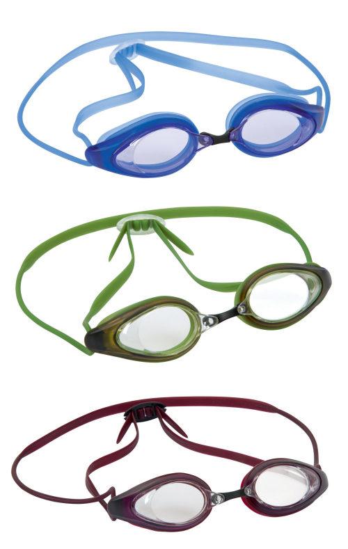 очки для плавания мнгов. гонка от 14лет 3 цв. в асс-те