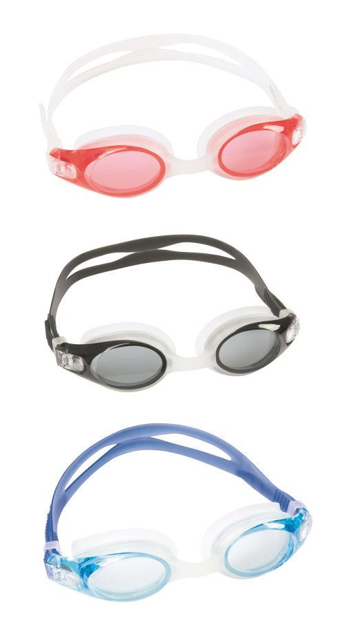 очки для плавания атлет 3 цв. в асс-те