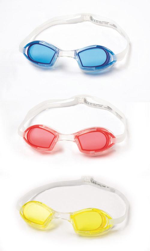 очки для плавания IX-550 от 7лет 3 цв. в асс-те
