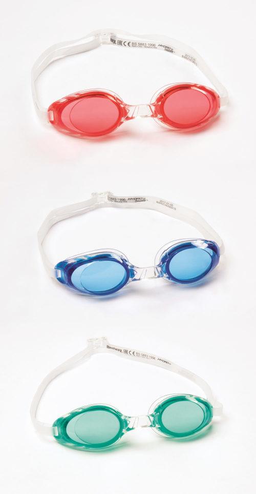 очки для плавания глайд от 14лет 3 цв. в асс-те