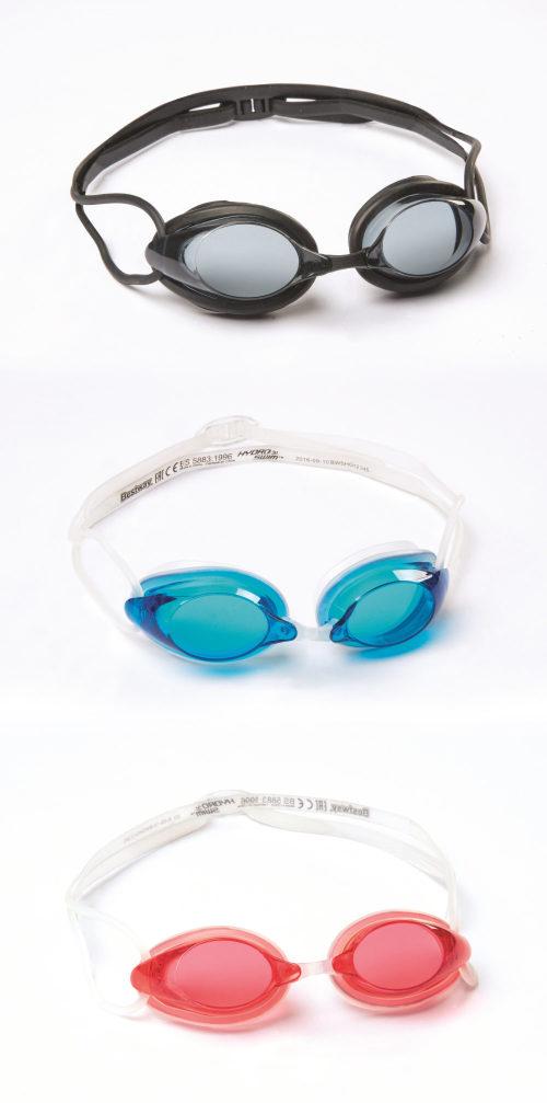 очки для плавания IX-1300 от 7лет 3 цв. в асс-те