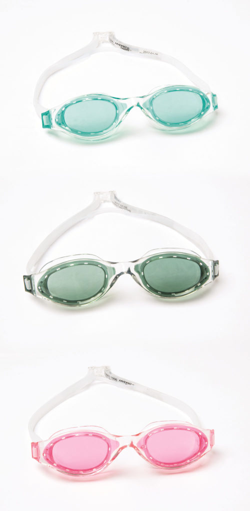 очки для плавания IX-1400 от 14лет 3 цв. в асс-те
