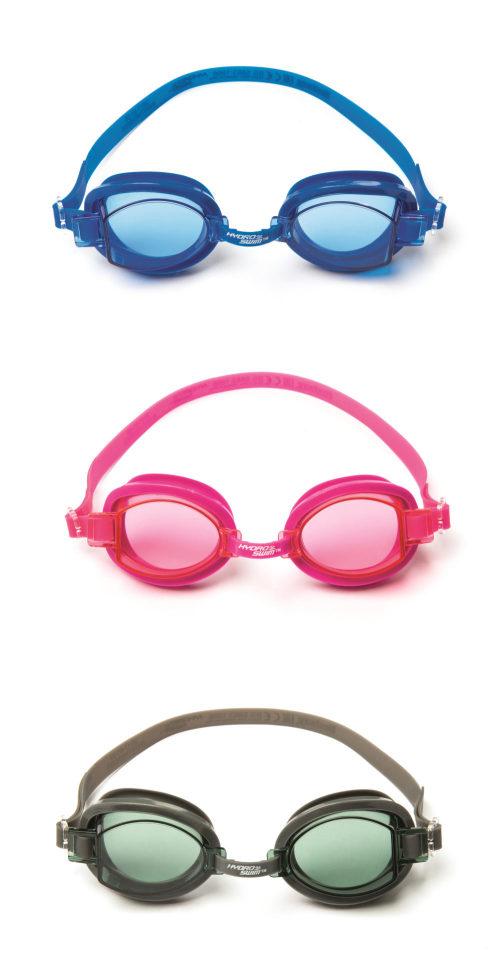 очки для плавания морская волна от 7лет в тубе 3 цв. в асс-те