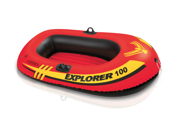 Надувная лодка эксплорер 100 147х84х36см от 6лет
