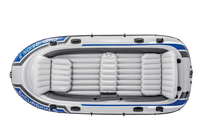 Надувная лодка экскурсия-5 366х168х43см/весла алюм./насос ручной